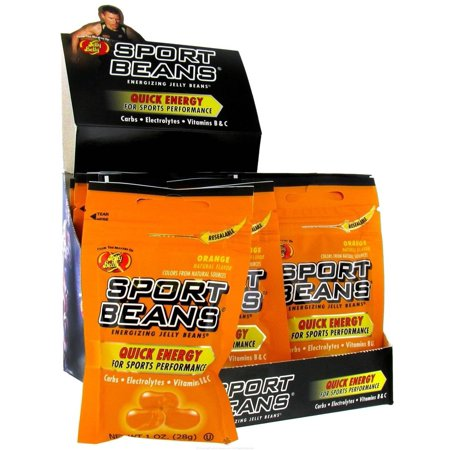 JELLY BELLY SPORT BEANS NATURAL FLAVOR ORIGINAL JELLY BEAN 1 oz.