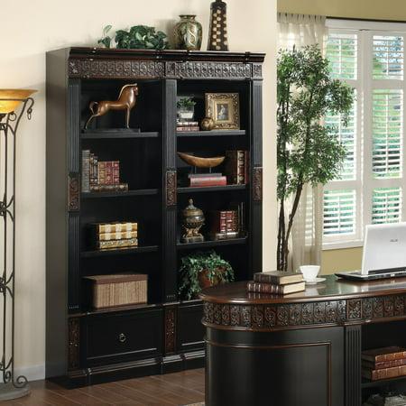 Coaster Company Bookcase, Espresso/Red Brown