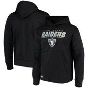 Las Vegas Raiders New Era Combine Stated Pullover Hoodie - Black