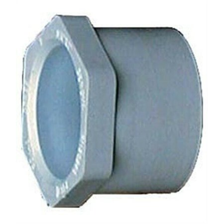 Genova Products 30254 1 1/2 X 1 1/4 PVC Sch. 40 Reducing Bushings 1/2 Sch 40 Bushing