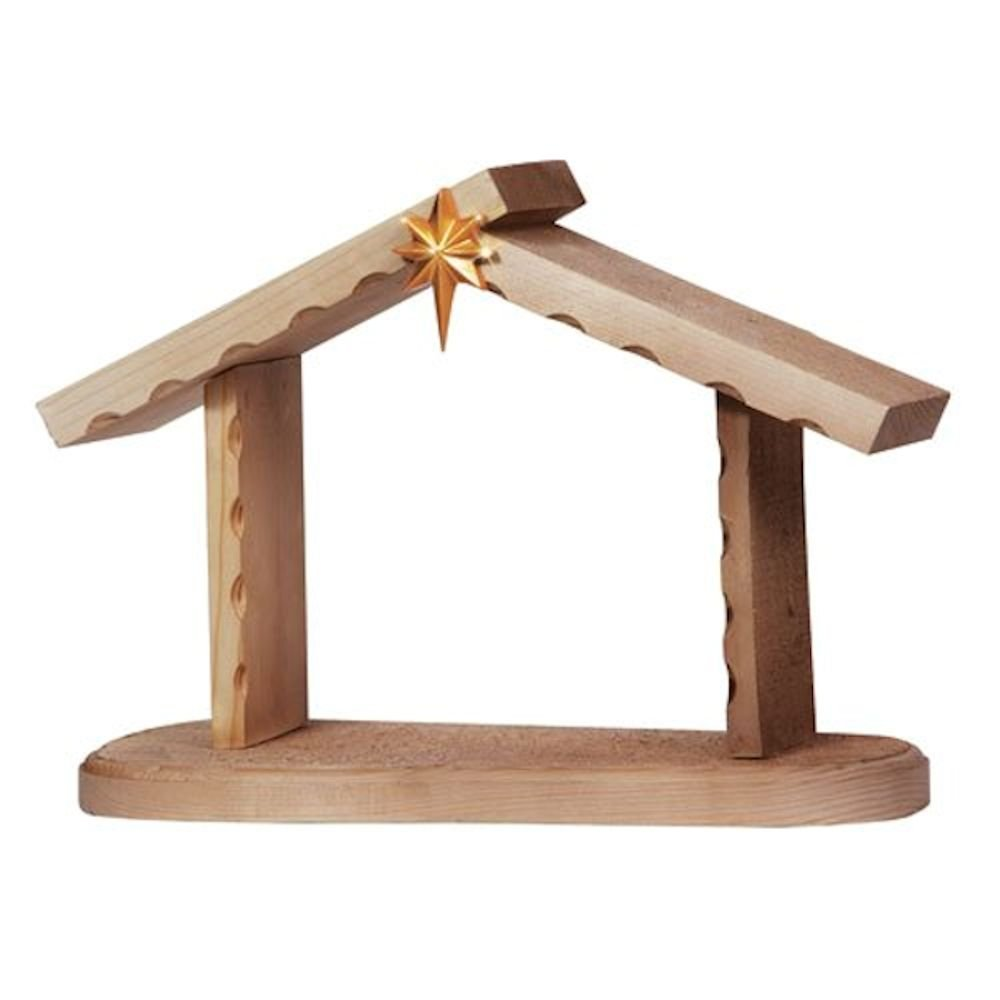 Precious Moments Creche Wood Nativity Figurine by Precious Moments