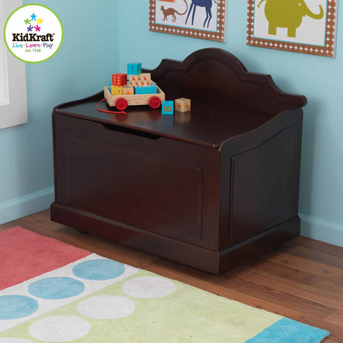 KidKraft Raleigh Toy Box, Multiple Colors