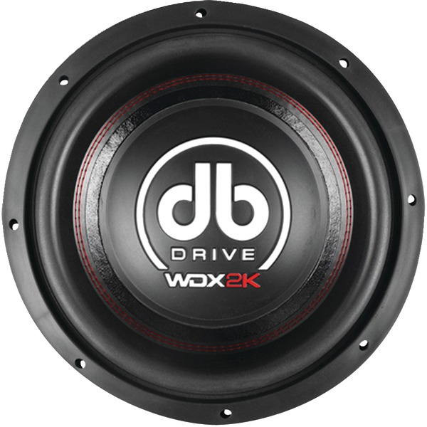 DB Drive WDX12 2K WDX Series Competition Subwoofer, 12""