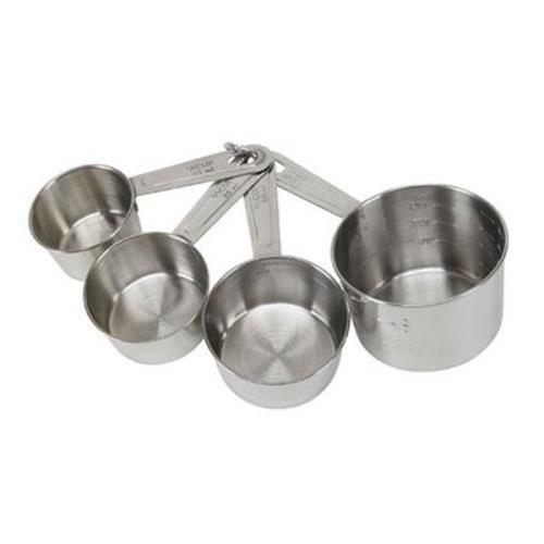No.19850 Good Cook Stainless Steel Measuring Cup Set