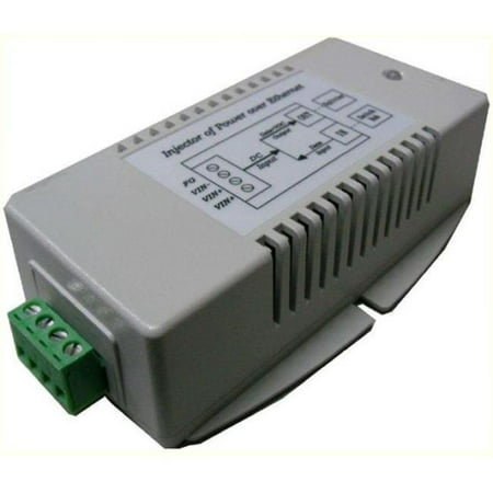 Tycon Systems TP-DCDC-4824G-HP 24V DC Out 30W Hi Power DC To DC Converter And Passive POE Inserter - Gigabit - image 1 of 1