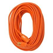 Southwire 2309SW8803 16/3 100' Orange Weather Resistant Vinyl Outdoor Extension Cord