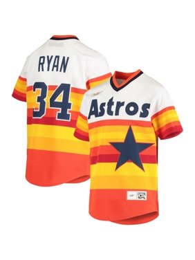 Nolan Ryan Houston Astros Nike Youth Home Cooperstown Collection Player Jersey - White