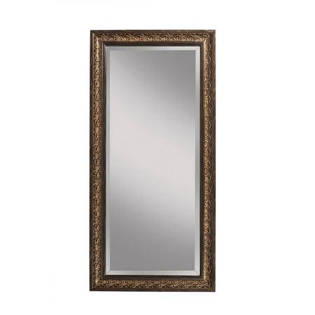 Full Length Leaner Mirror, Cognac Ash Andorra, 66