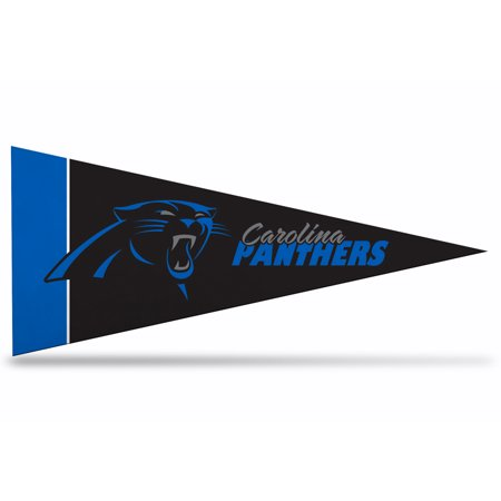 Officially Licensed 8 Pack Carolina Panthers Mini Pennant  4   X 9