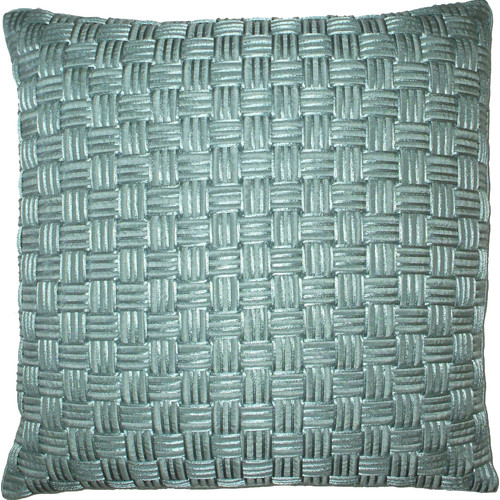 Edie Inc. Basket Weave Cord Throw Pillow
