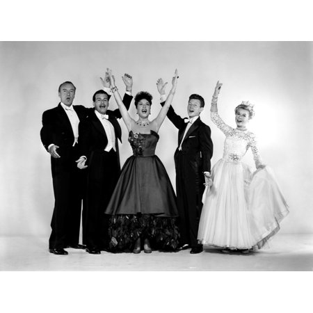 Call Me Madam George Sanders Billy Dewolfe Ethel Merman Donald Oconnor Vera Ellen 1953 Tm And Copyright 20Th Century Fox Film Corp All Rights Reserved  Courtesy Everett Collection Photo Print