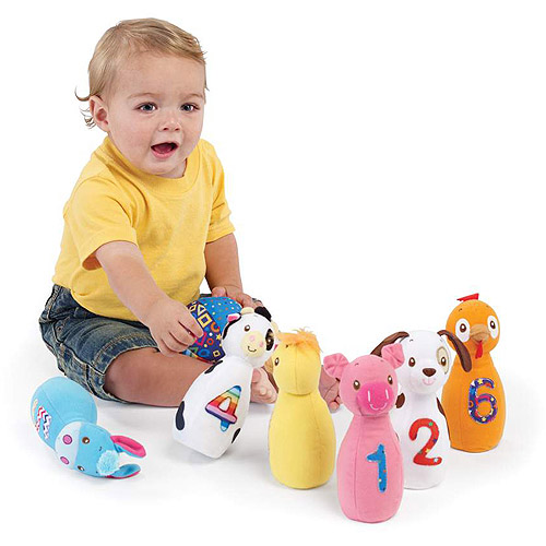 Earlyears Baby Farm Friend Bowling by International Playthings
