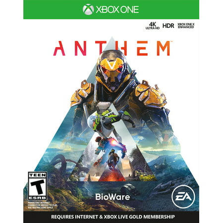 Anthem, Electronic Arts, Xbox One, 014633735253