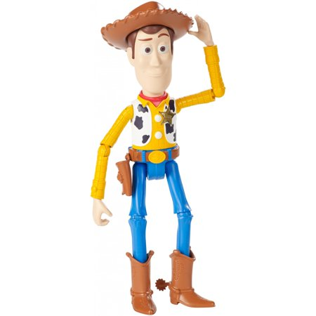 Toy Story Woody Boots (Disney Pixar Toy Story Woody Character Figure with Authentic)
