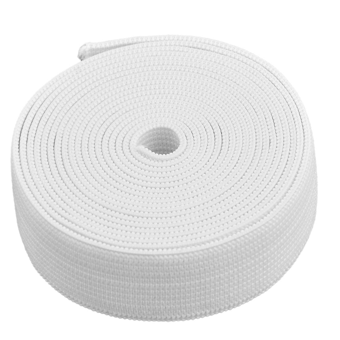Rubber Stretchy Elastic String Sewing Pants Trousers Garments Band Rope White
