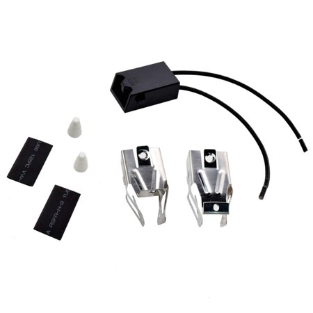 HQRP Range Top Burner Receptacle Kit Replacement for Kenmore 747954610 7479547611 9609012190 9609012191 9609072890 664RF3020XYN1 664RF3020XYN2 664RF3020XYW0 Oven Stove plus HQRP