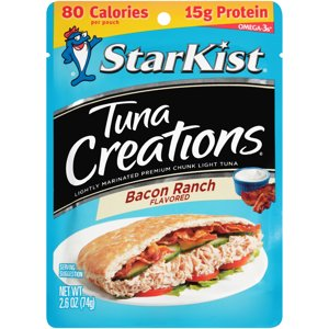 StarKist Tuna Creations, Bacon Ranch, 2.6 Ounce Pouch