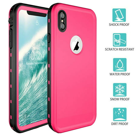 huge selection of d3321 483ad Apple IPhone XR Redpepper Waterproof Swimming Shockproof Dirt Proof Case  Cover Pink