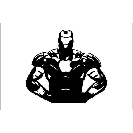 Iron Man 2 - MacBook Decal