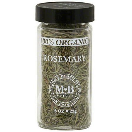Morton & Bassett Spices Rosemary, 0.8 oz (Pack of 3)