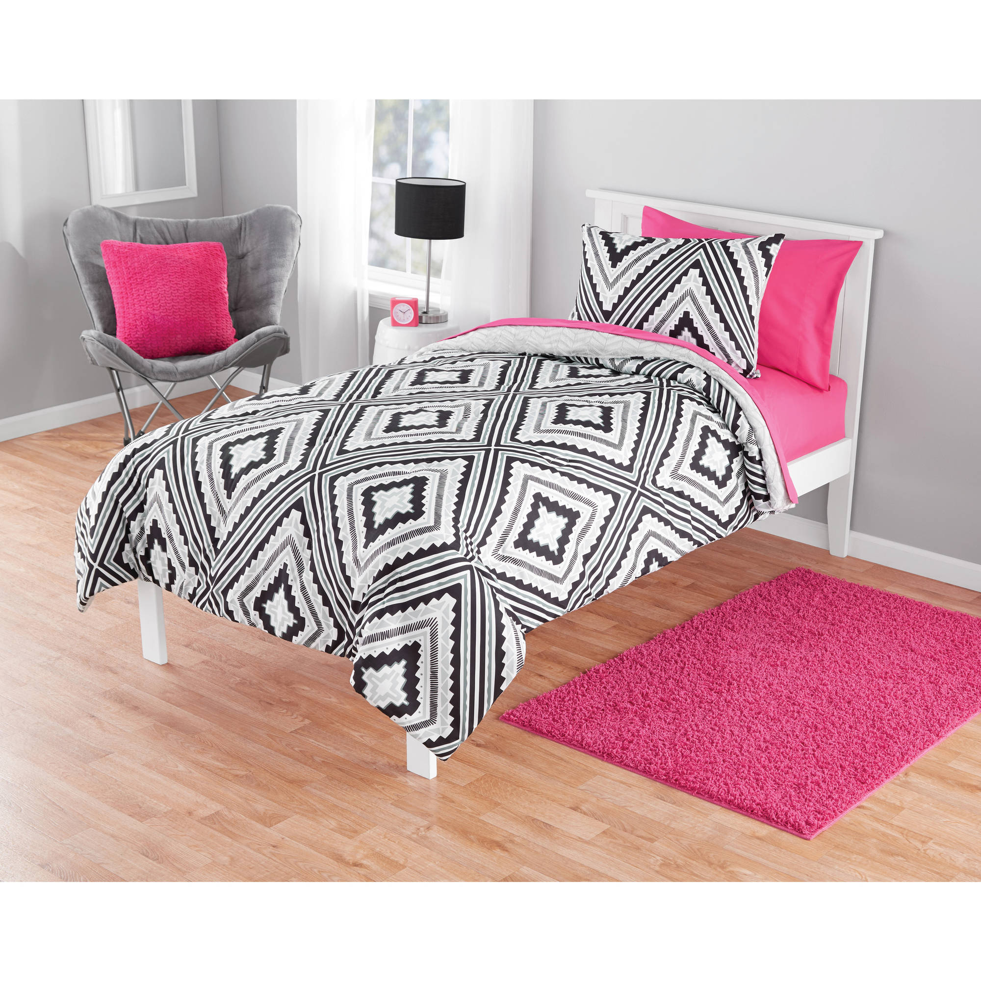 Your Zone Geo Aztec Comforter Set