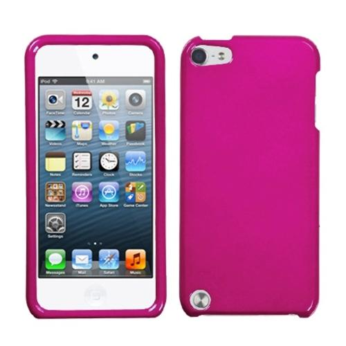 Insten Solid Hot Pink Phone Case for iPod touch (5 5G 5th 6 6G 6th Gen)