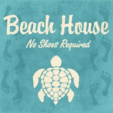 Beach House Poster Print By Piper Ballantyne