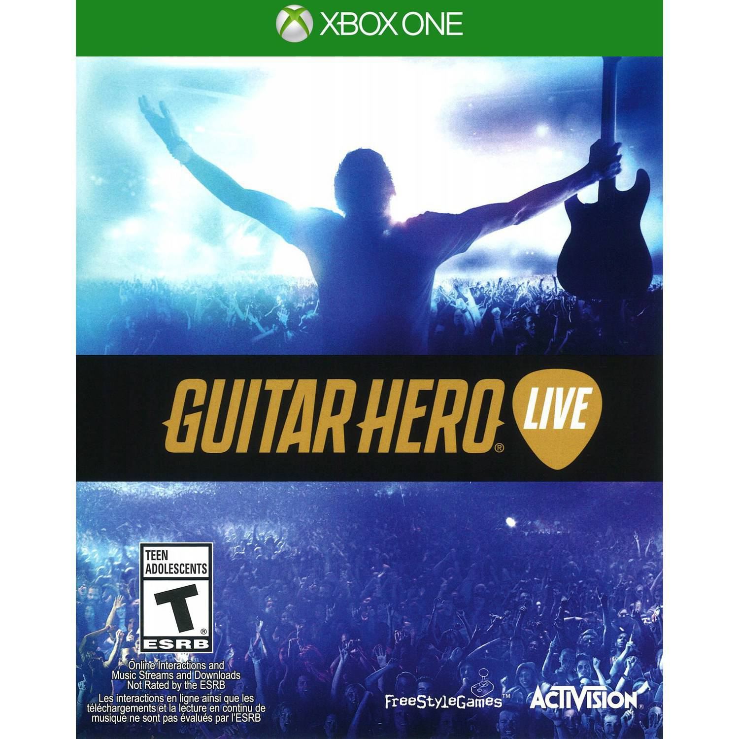Guitar Hero Live: 2 Guitar Bundle (Xbox One)