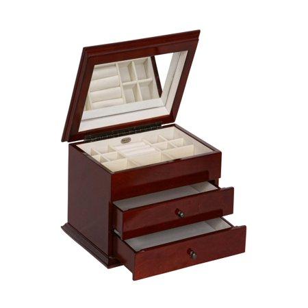 Mele & Co. Brayden Wooden Jewelry Box -
