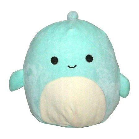 Squishmallow 8 inch Perry Dolphin Fish Plush Pillow Toy Blue Blue Angels Plush Toy