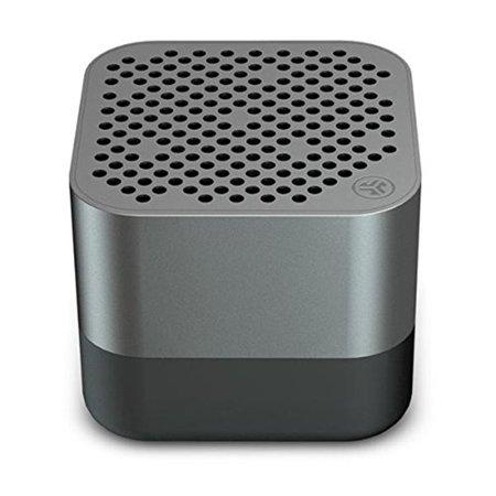 JLab Audio Crasher Micro Ultra Portable Rechargeable Bluetooth Wireless Speaker, IP54 Rated Splashproof and Dustproof, 10 Hour Battery 600 mAh, Gunmetal (Open Box - Like