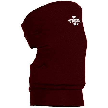 Adams USA Trace Pair of Volleyball or Basketball Knee Guard - Maroon -