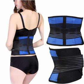 OTVIAP Adjustable Lumbar Support Belt Lower Back Brace Posture Corrector  Waist Wrap for Sciatica Back Pain Relief Postpartum Abdomen Shaping for  Heavy Lifting, Workout, Fitness, Women/Men - Walmart.com - Walmart.com
