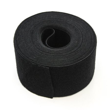 15FT REUSABLE 2 Inch Roll Hook & Loop Cable Fastening Tape Cord Wraps Straps ()