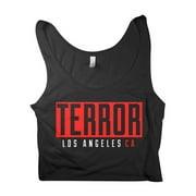 Terror  LA Crop Top Girls Jr Black