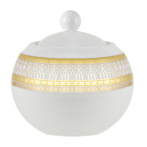 Astoria Grand Montage 11 oz. Sugar Bowl with Lid by