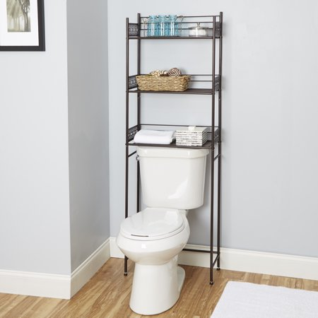 Chapter Filigree Bathroom Space Saver, Multiple Finishes (Space Saver Rollaway)
