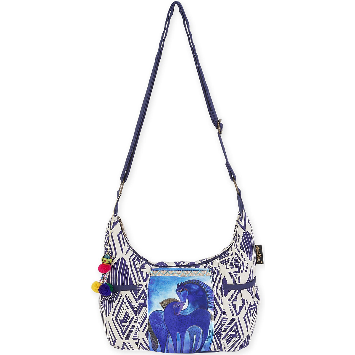 Medium Scoop Crossbody 11.5 Inch X 5.75 Inch X 8 Inch-Indigo Mares