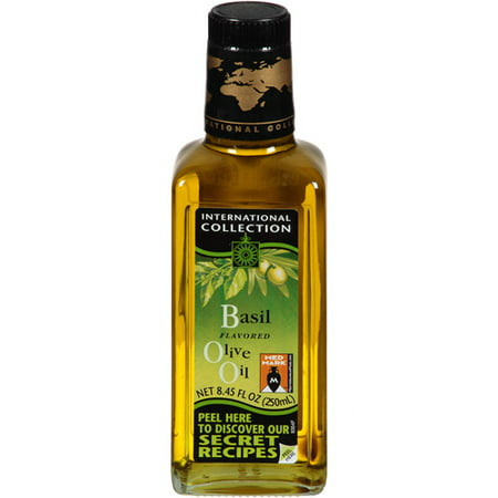 International collection basil olive oil for International collection