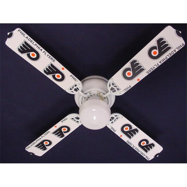 Ceiling Fan Designers 42FAN-NHL-PHI New NHL PHILADELPHIA FLYERS HOCKEY Ceiling Fan 42''