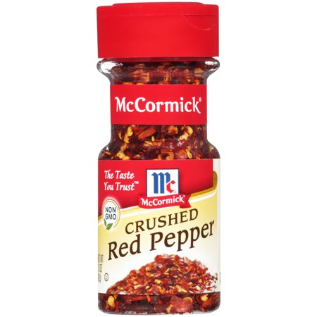 (2 Pack) McCormick Crushed Red Pepper, 1.5 oz
