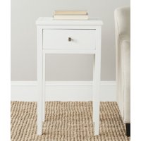 Safavieh Abel Solid Rustic Nightstand with Storage Drawer