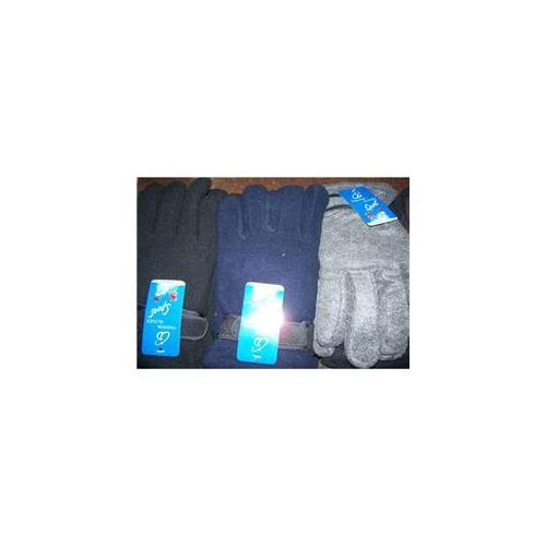 Bulk Buys Fleece Gloves - Mens - Case of 144