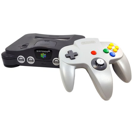 Refurbished Nintendo 64 N64 Game Console with Red Expansion Pak and Controller 98 Nintendo 64 N64 Game