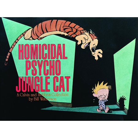 Calvin Et Hobbes Halloween (Homicidal Psycho Jungle Cat : A Calvin and Hobbes)