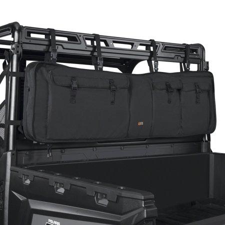 53 Inch Aluminum Gun Case - Classic Accessories QuadGear UTV Double Gun Carrier, UTV Gun Rack, 53