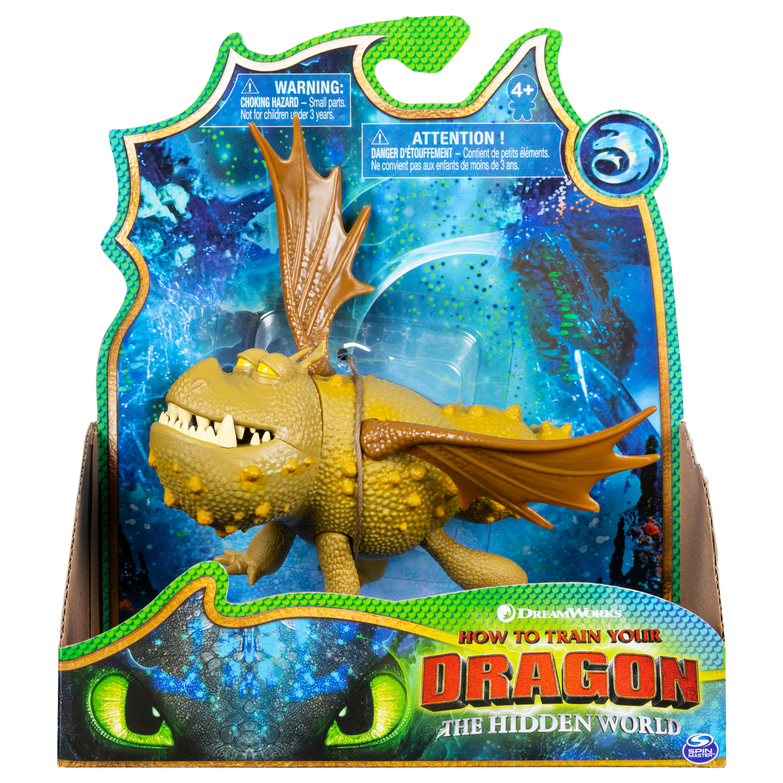 DreamWorks Dragons Meatlug Dragon Figure with Moving Parts
