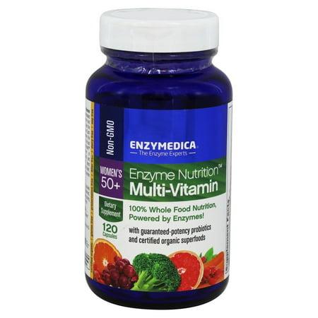 Enzymedica - Enzyme Nutrition multivitamines pour les femmes 50+ - 120 Capsules