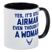 CafePress - U.S. Air Force Airman Even Thoug - Unique Coffee Mug, Coffee Cup CafePress