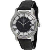 Tissot Bridgeport Automatic Black Dial Men's Watch